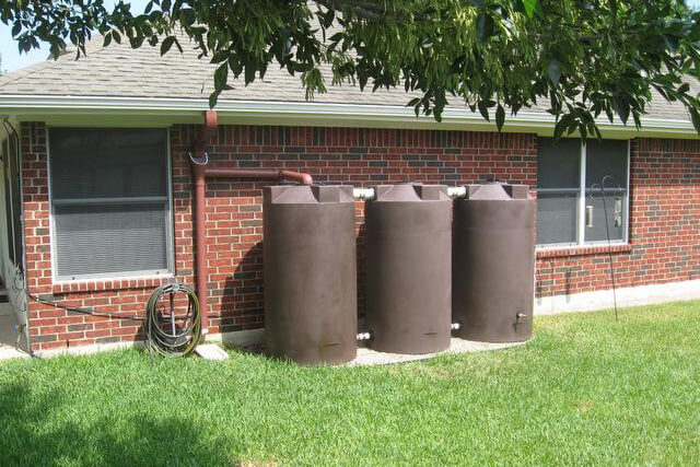 750 Gallon Rain Harvesting System