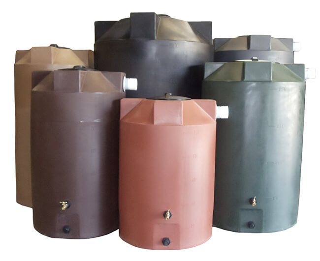 Rain Harvesting Water Tanks